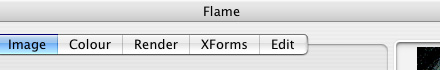 Flame Window Tabs